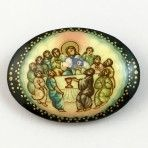 Russian Handpainted Last Supper