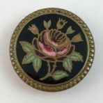 19th C. Rose Enamel