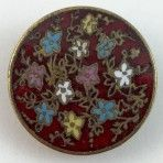Red Champleve Enamel