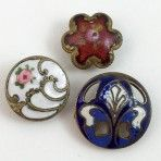 Small Enamel Trio