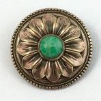 Copper Tinted Sunflower Jewel