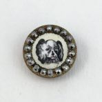 Small King Charles Spaniel Enamel