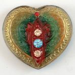 Lacy Glass Heart